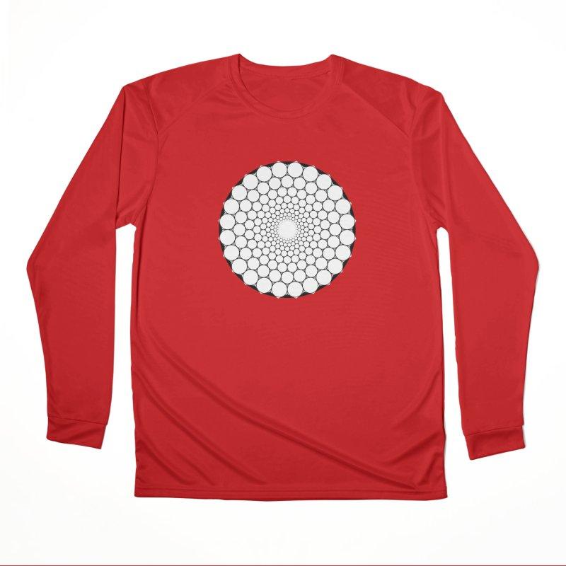 Optical Illusion Sacred Geometry Shirts Men's Performance Longsleeve T-Shirt by Leading Artist Shop