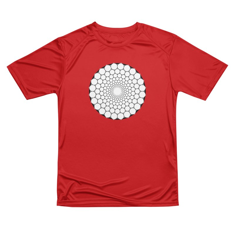 Optical Illusion Sacred Geometry Shirts Men's Performance T-Shirt by Leading Artist Shop