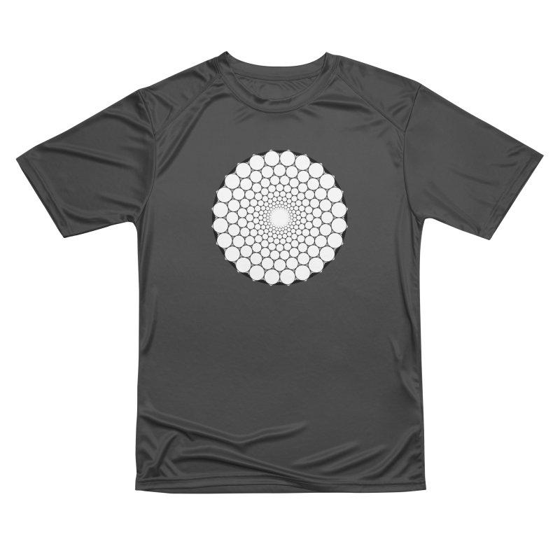 Optical Illusion Sacred Geometry Shirts Women's Performance Unisex T-Shirt by Leading Artist Shop