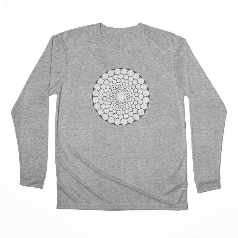 Optical Illusion Sacred Geometry Shirts Women's Performance Unisex Longsleeve T-Shirt by Leading Artist Shop