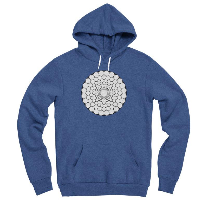Optical Illusion Sacred Geometry Shirts Men's Sponge Fleece Pullover Hoody by Leading Artist Shop