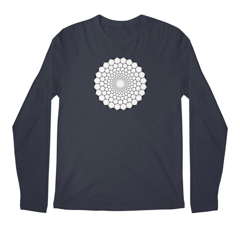 Optical Illusion Sacred Geometry Shirts Men's Regular Longsleeve T-Shirt by Leading Artist Shop