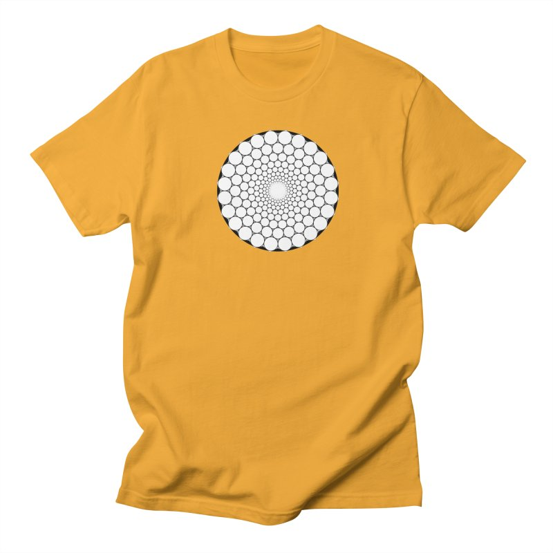 Optical Illusion Sacred Geometry Shirts Women's Regular Unisex T-Shirt by Leading Artist Shop