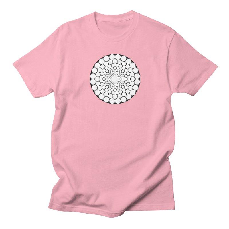 Optical Illusion Sacred Geometry Shirts Men's Regular T-Shirt by Leading Artist Shop