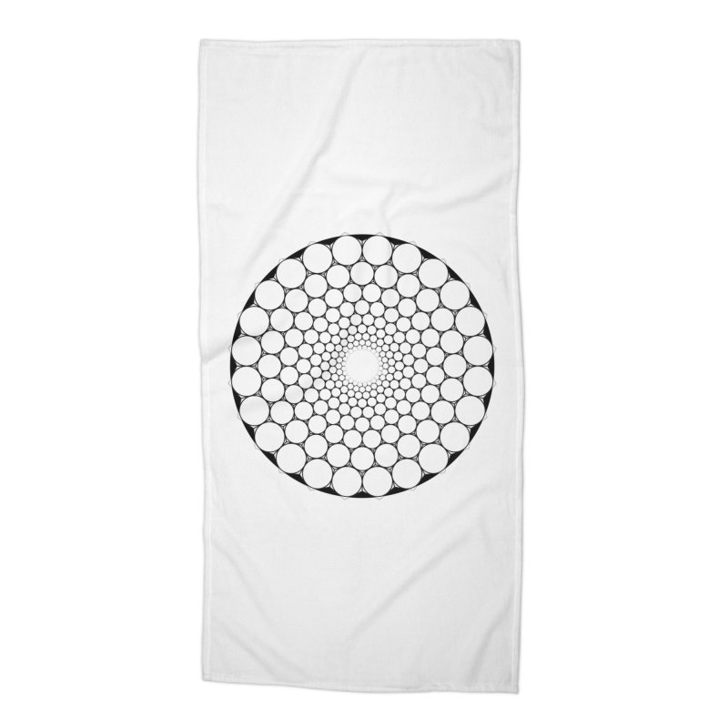Optical Illusion Sacred Geometry Shirts Accessories Beach Towel by Leading Artist Shop