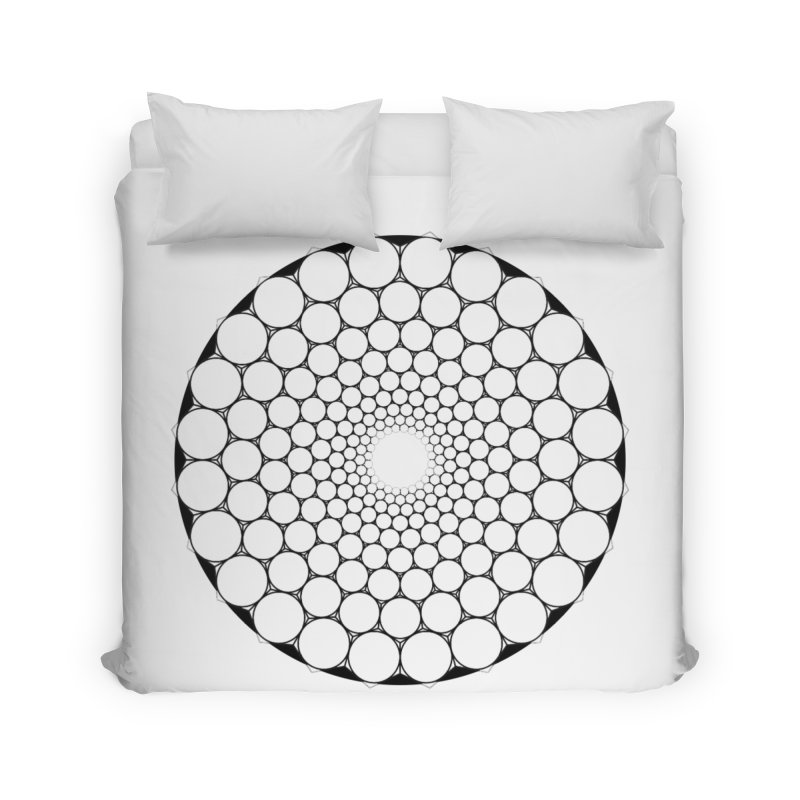 Optical Illusion Sacred Geometry Shirts Home Duvet by Leading Artist Shop