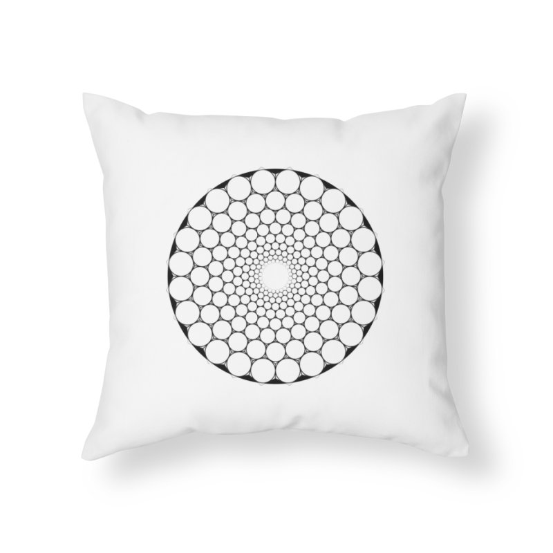 Optical Illusion Sacred Geometry Shirts Home Throw Pillow by Leading Artist Shop