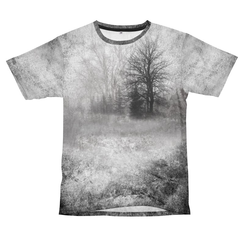 Foggy Woods Shirt Women's Unisex T-Shirt Cut & Sew by Leading Artist Shop