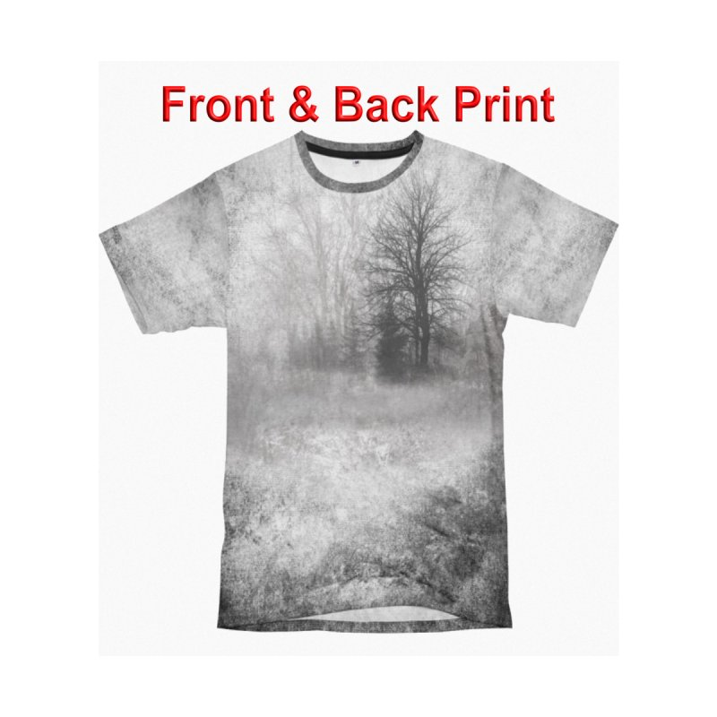 Foggy Woods Shirt by Leading Artist Shop