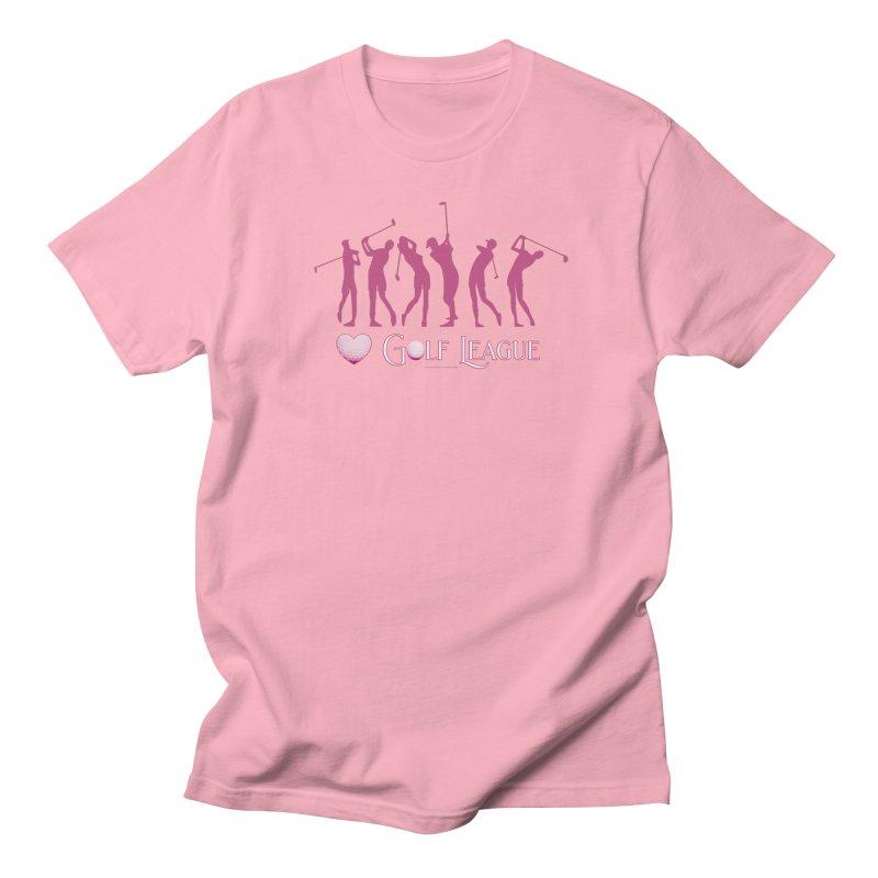 Women's Golf League Shirts n More Women's Regular Unisex T-Shirt by Leading Artist Shop