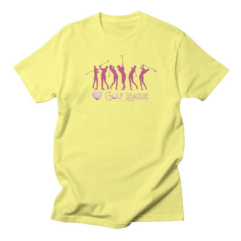 Women's Golf League Shirts n More Men's Regular T-Shirt by Leading Artist Shop