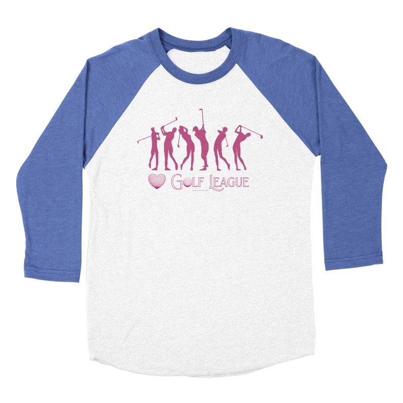 Women's Golf League Shirts n More Men's Baseball Triblend Longsleeve T-Shirt by Leading Artist Shop