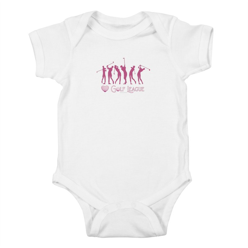 Women's Golf League Shirts n More Kids Baby Bodysuit by Leading Artist Shop