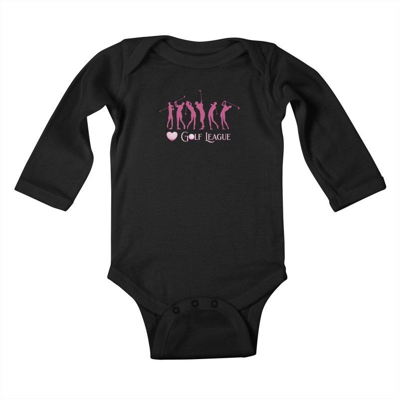 Women's Golf League Shirts n More Kids Baby Longsleeve Bodysuit by Leading Artist Shop