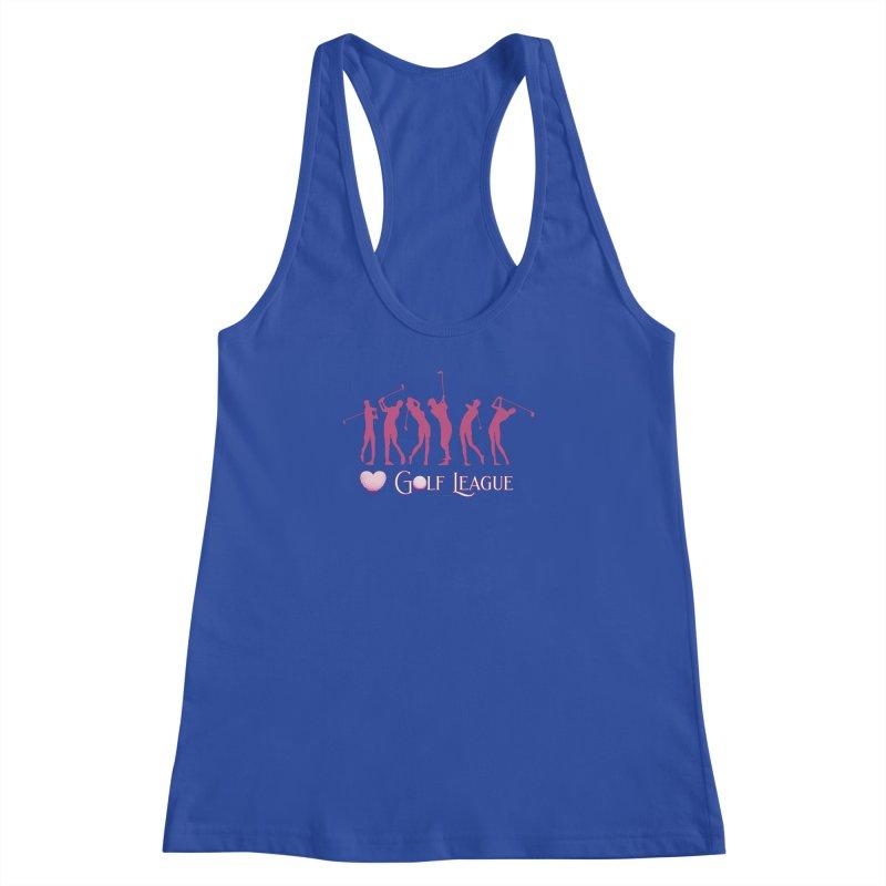 Women's Golf League Shirts n More Women's Racerback Tank by Leading Artist Shop