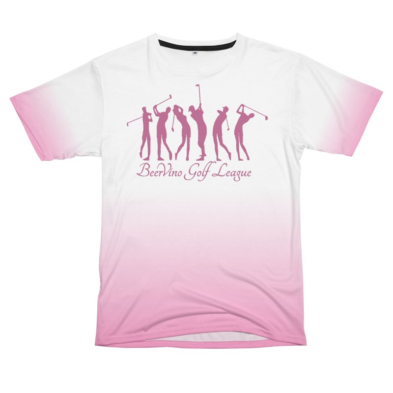 BerVino Golf League Women's Unisex T-Shirt Cut & Sew by Leading Artist Shop