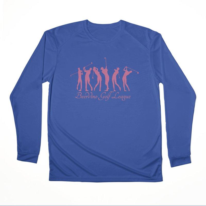 BerVino Golf League Men's Performance Longsleeve T-Shirt by Leading Artist Shop