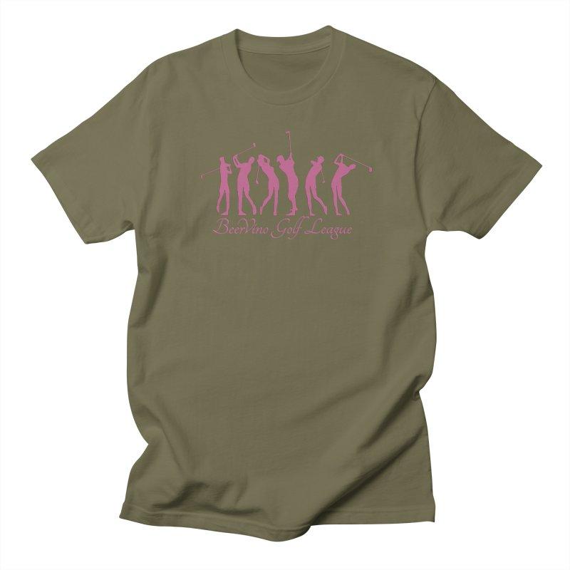 BerVino Golf League Women's Regular Unisex T-Shirt by Leading Artist Shop
