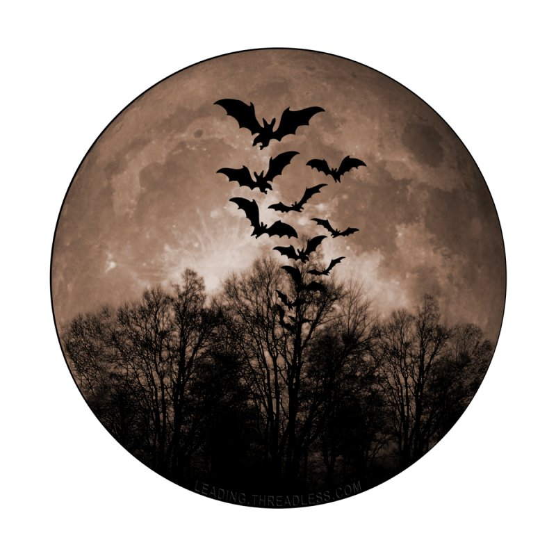Halloween Moon With Bats Accessories Notebook by Leading Artist Shop