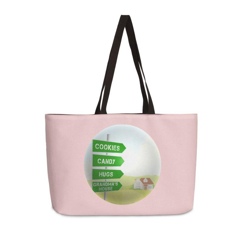 Cookies Candy Hugs Grandmas House Accessories Weekender Bag Bag by Leading Artist Shop