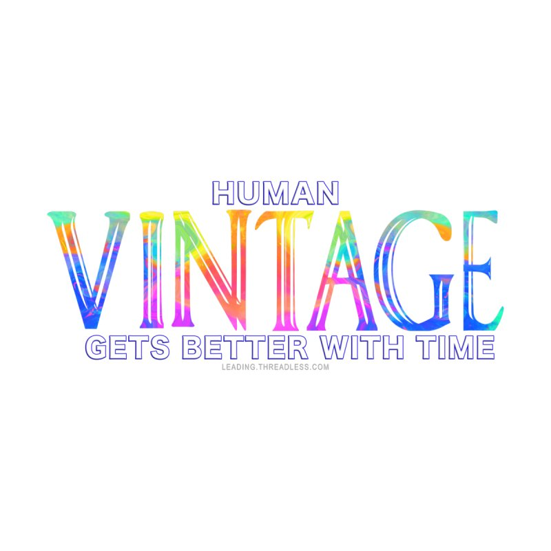 Vintage Human Shirt by Leading Artist Shop