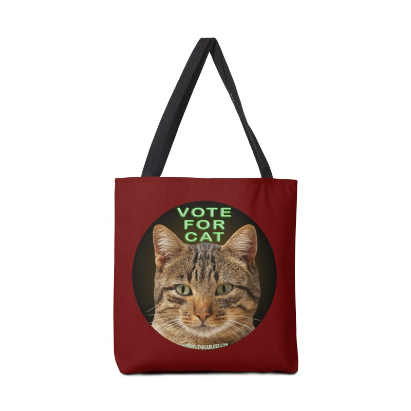 Vote For Cat Accessories Tote Bag Bag by Leading Artist Shop