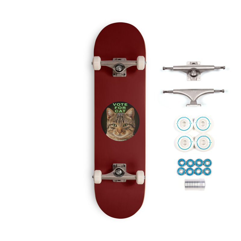 Vote For Cat Accessories Complete - Basic Skateboard by Leading Artist Shop