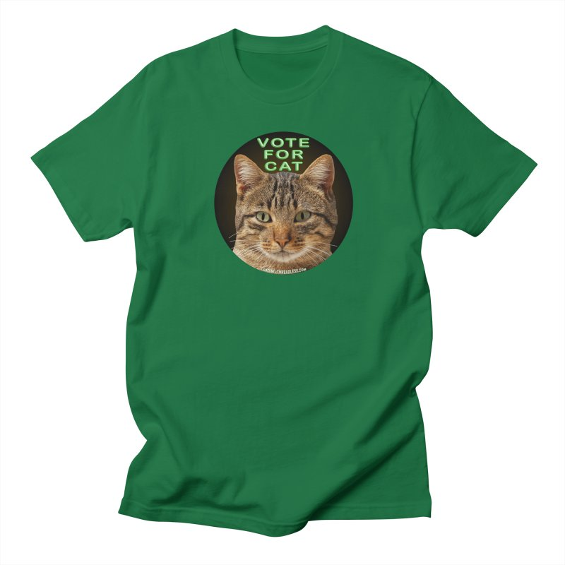Vote For Cat Men's Regular T-Shirt by Leading Artist Shop