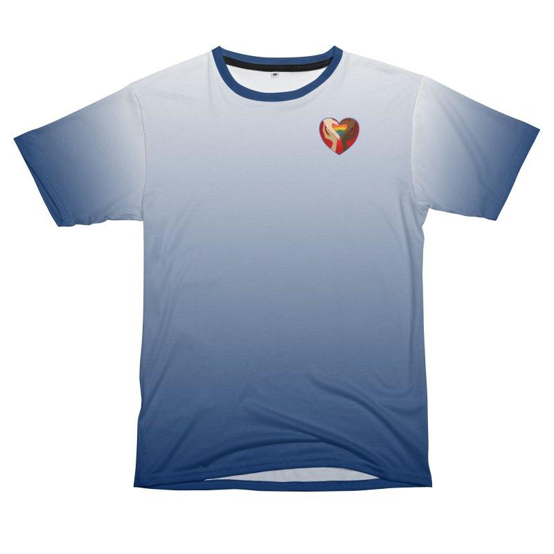Raise Your Voice Women's Unisex T-Shirt Cut & Sew by Leading Artist Shop