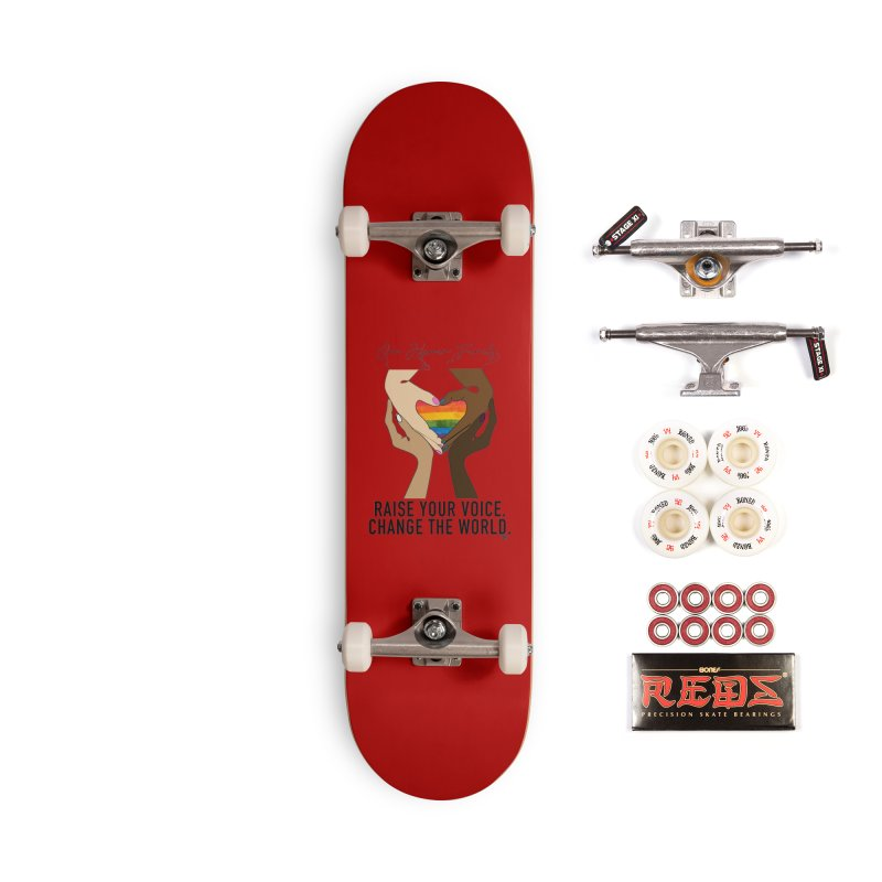 Raise Your Voice Accessories Complete - Pro Skateboard by Leading Artist Shop