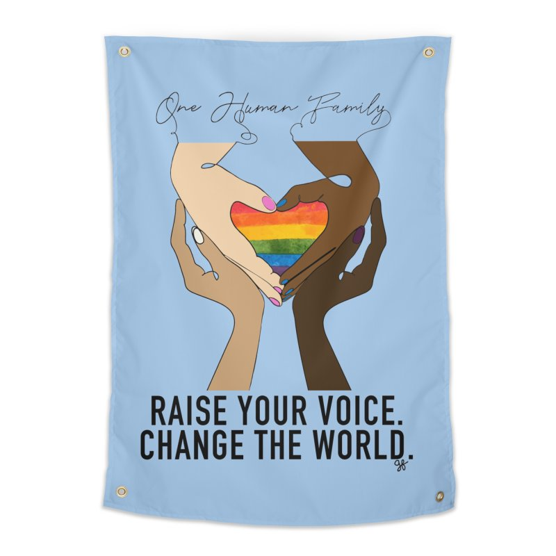 Raise Your Voice Home Tapestry by Leading Artist Shop