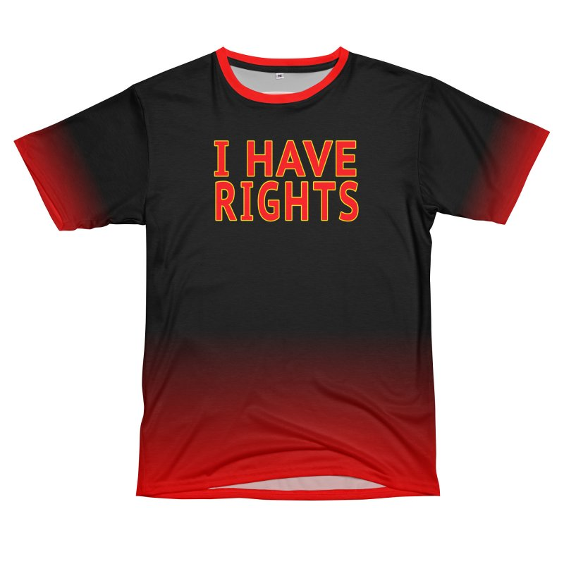 My Constitutional Rights Common Sense Gun Control Women's Unisex T-Shirt Cut & Sew by Leading Artist Shop