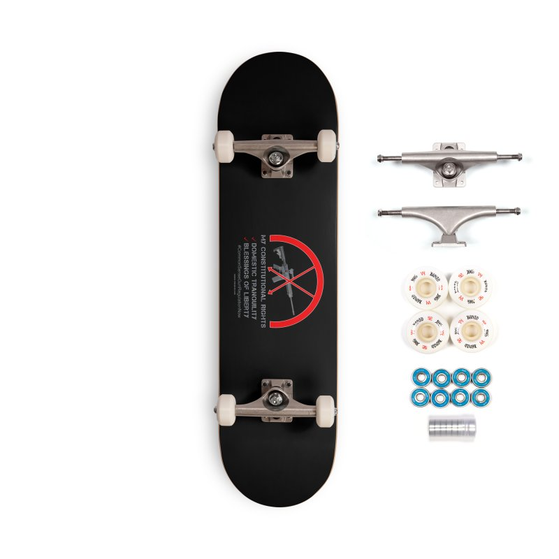 My Constitutional Rights Common Sense Gun Control Accessories Complete - Premium Skateboard by Leading Artist Shop