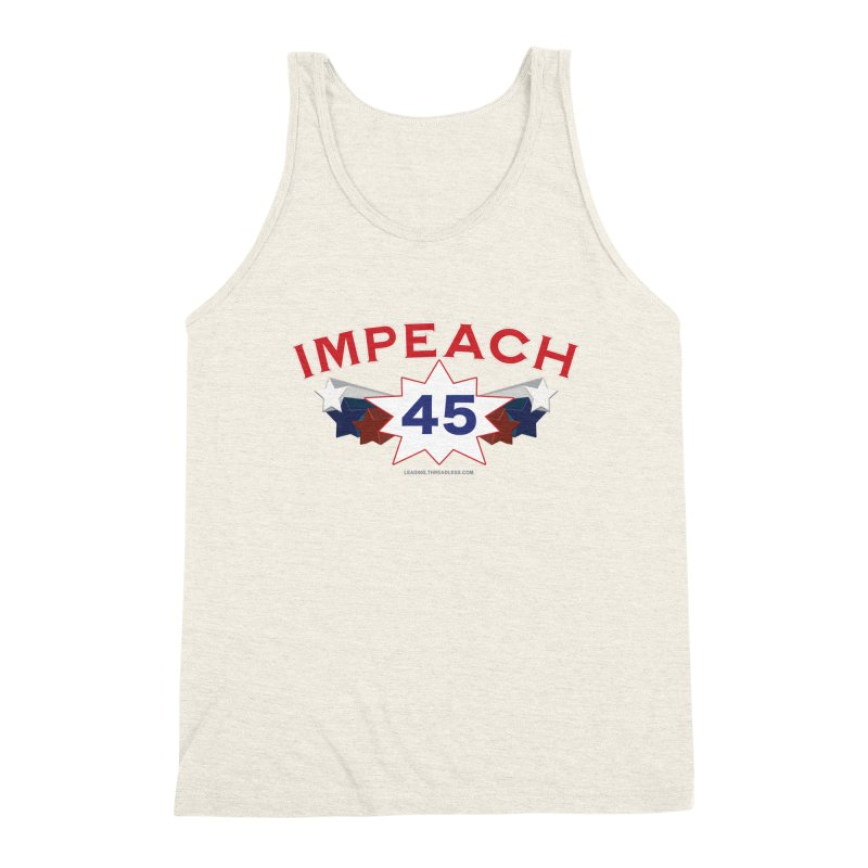 Impeach 45 With Stars Men's Triblend Tank by Leading Artist Shop