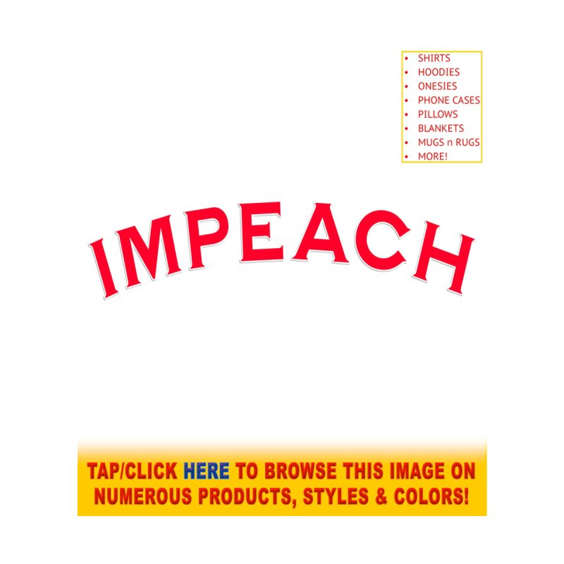 Impeach Shirts Phone Cases n More Women's Pullover Hoody by Leading Artist Shop