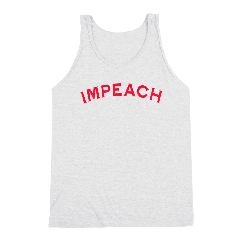 Impeach Shirts Phone Cases n More Men's Triblend Tank by Leading Artist Shop