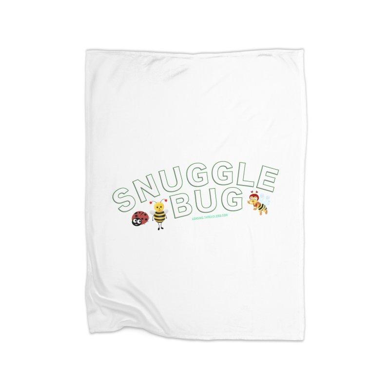 Snuggle Bug Onesie Shirts n More Home Fleece Blanket Blanket by Leading Artist Shop