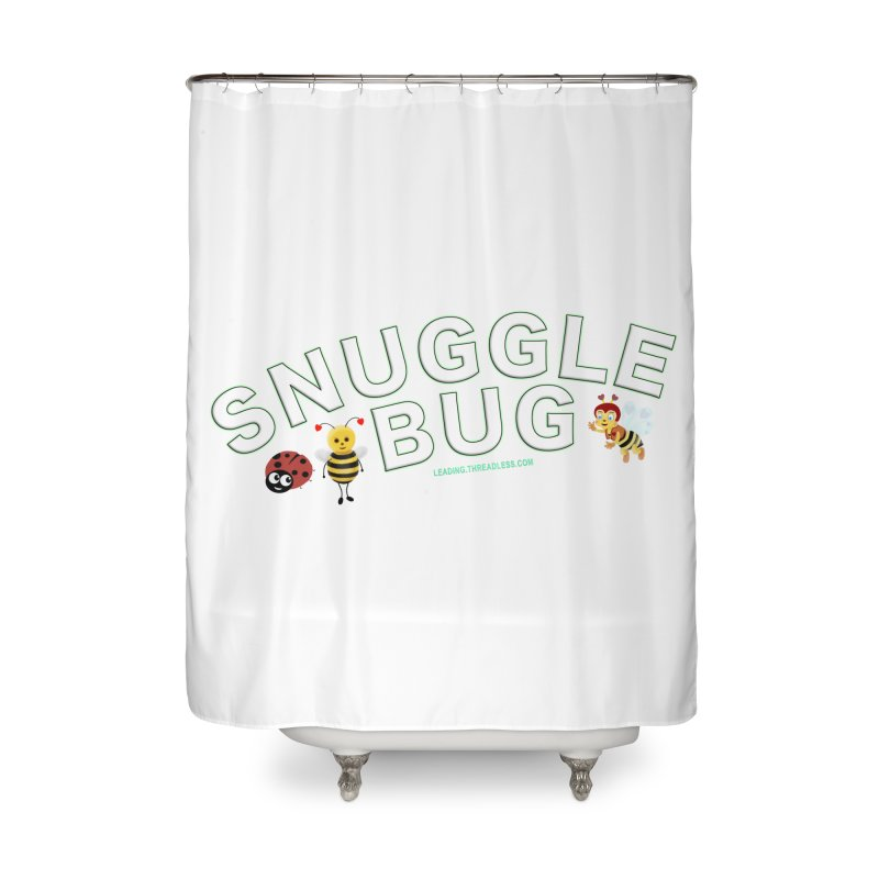 Snuggle Bug Onesie Shirts n More Home Shower Curtain by Leading Artist Shop