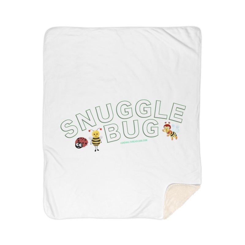Snuggle Bug Onesie Shirts n More Home Sherpa Blanket Blanket by Leading Artist Shop