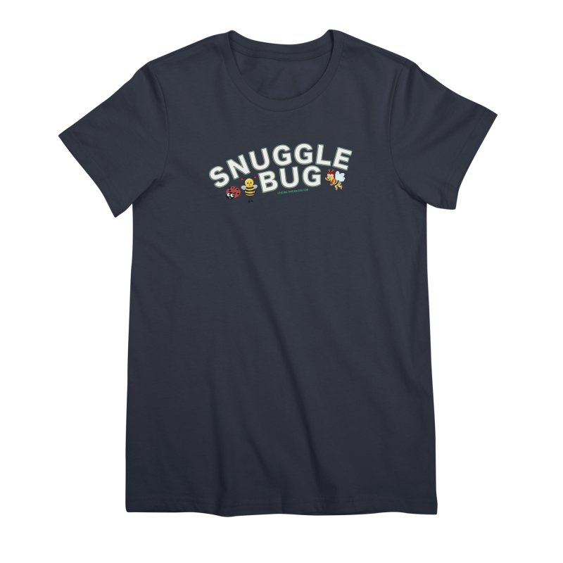 Snuggle Bug Onesie Shirts n More Women's Premium T-Shirt by Leading Artist Shop