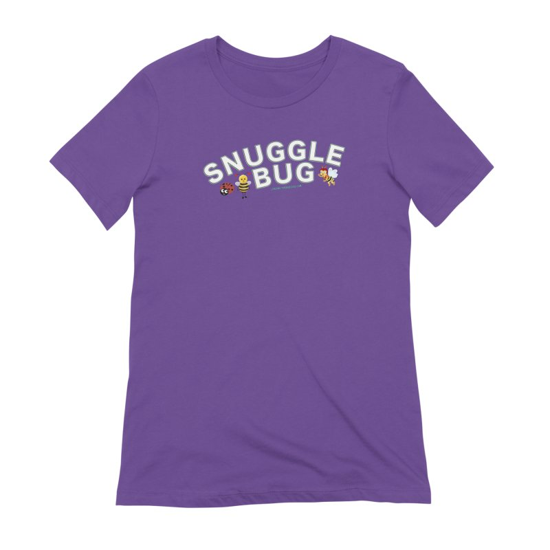 Snuggle Bug Onesie Shirts n More Women's Extra Soft T-Shirt by Leading Artist Shop