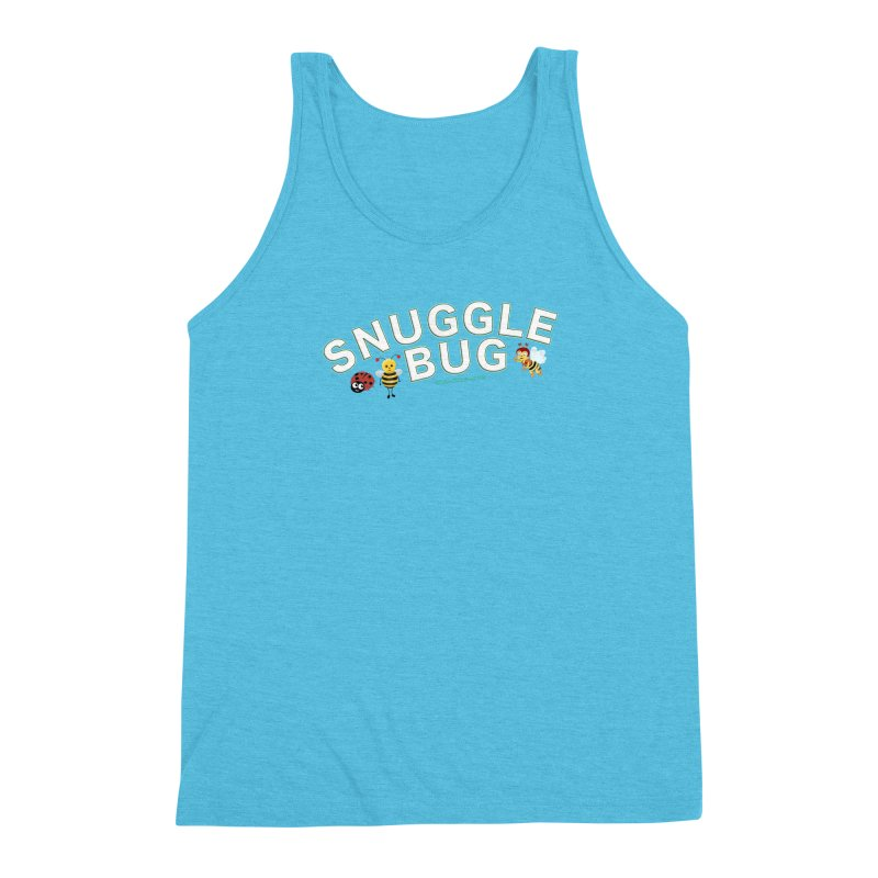 Snuggle Bug Onesie Shirts n More Men's Triblend Tank by Leading Artist Shop