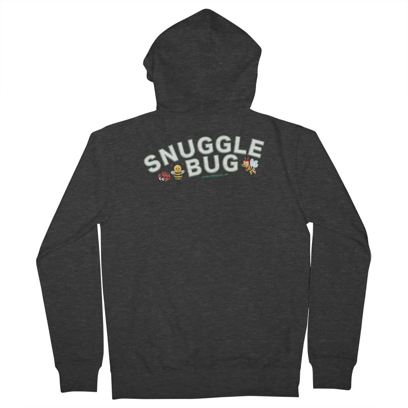 Snuggle Bug Onesie Shirts n More Women's French Terry Zip-Up Hoody by Leading Artist Shop
