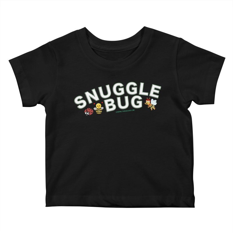 Snuggle Bug Onesie Shirts n More Kids Baby T-Shirt by Leading Artist Shop