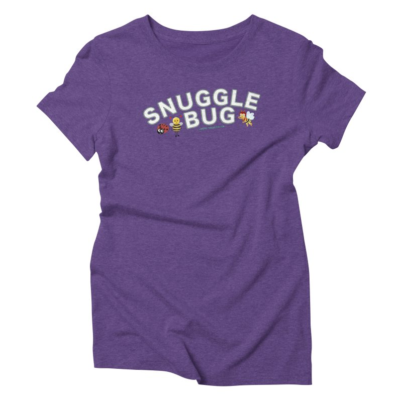Snuggle Bug Onesie Shirts n More Women's Triblend T-Shirt by Leading Artist Shop
