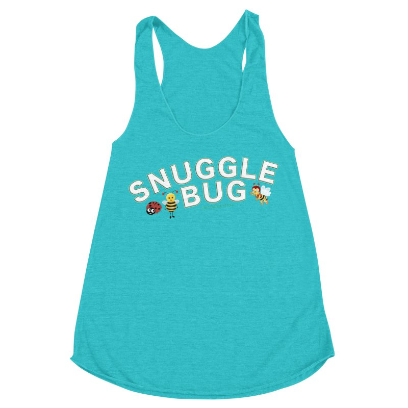 Snuggle Bug Onesie Shirts n More Women's Racerback Triblend Tank by Leading Artist Shop