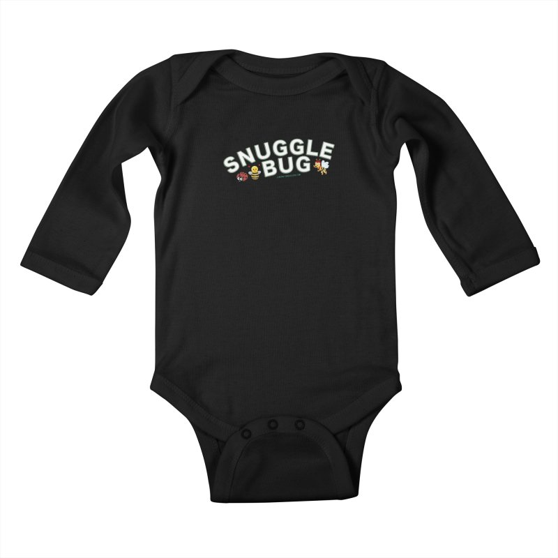 Snuggle Bug Onesie Shirts n More Kids Baby Longsleeve Bodysuit by Leading Artist Shop