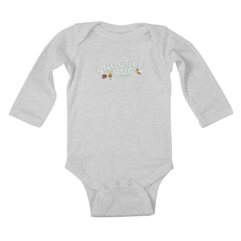 Snuggle Bug Onesie Shirts n More Kids Baby Longsleeve Bodysuit by Leading Artist Shop