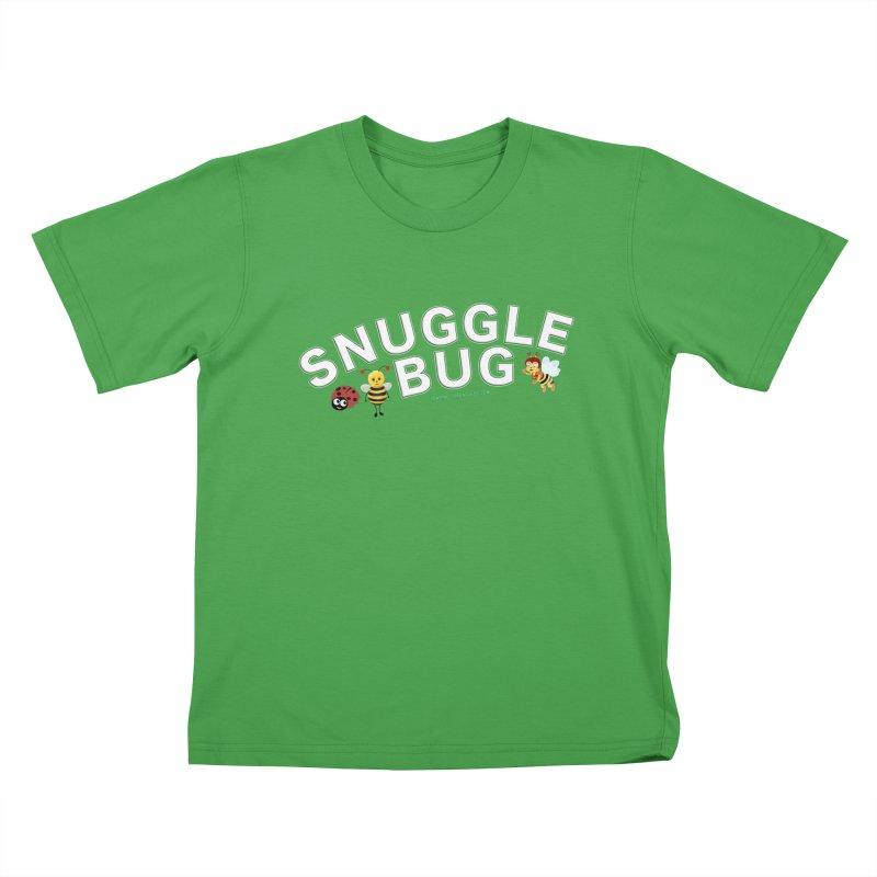 Snuggle Bug Onesie Shirts n More Kids T-Shirt by Leading Artist Shop