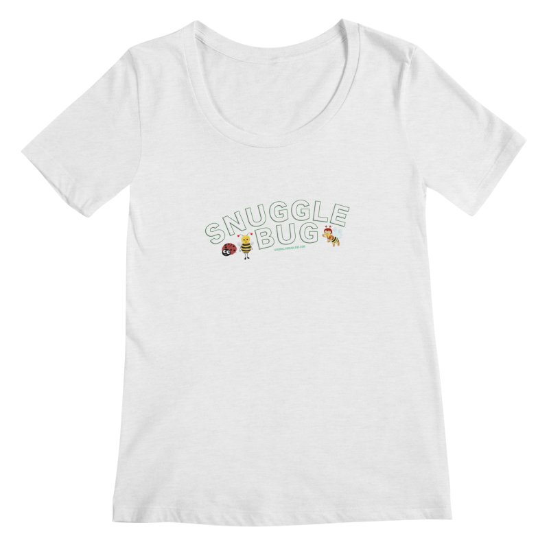Snuggle Bug Onesie Shirts n More Women's Regular Scoop Neck by Leading Artist Shop